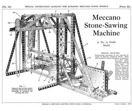 Stone-Sawing Machine