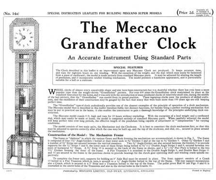 Grandfather Clock (revised)