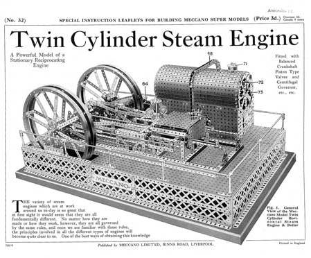 Twin Cylinder Steam Engine