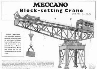 Block-Setting Crane