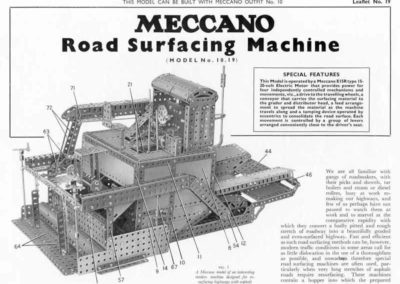 Road Surfacing Machine