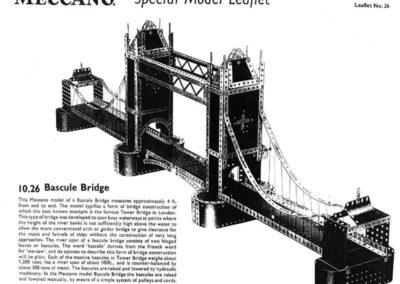 Bascule Bridge (Tower Bridge