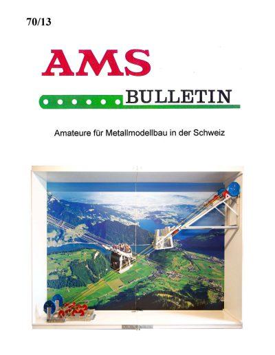 AMSclub Titelbild Bulletin 70/2013