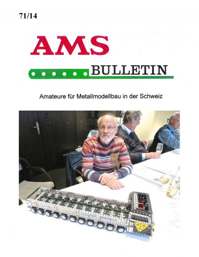 AMSclub Titelbild Bulletin 71/2014