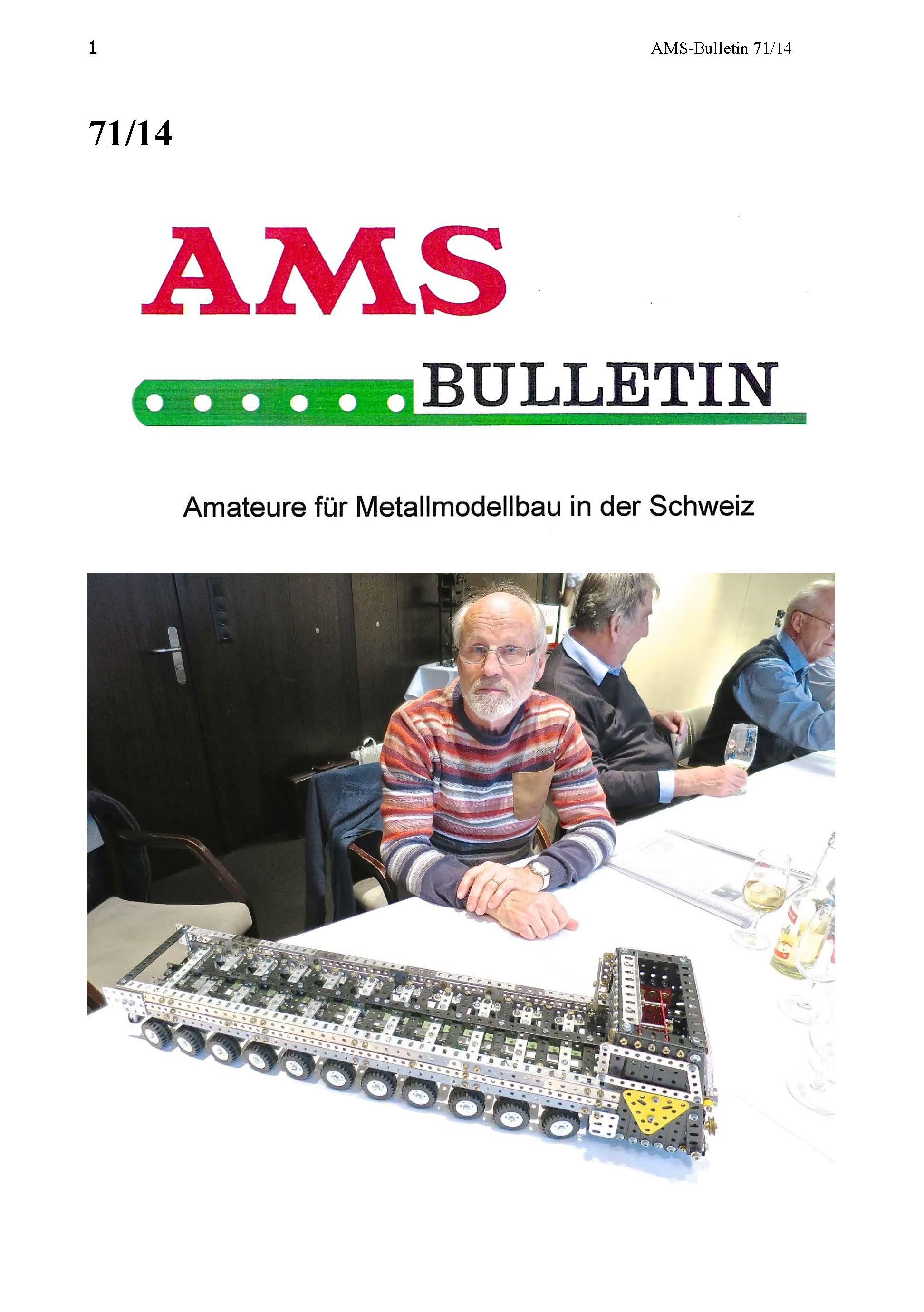 Bulletins Beiträge | AMSclub