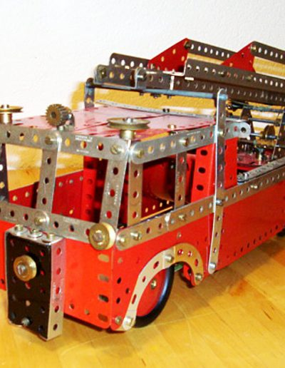 Feuwehrauto Meccano Modell 5.22