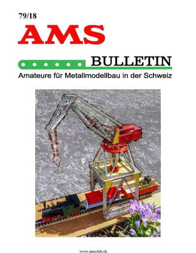 AMSclub Titelbild Bulletin 79/2018
