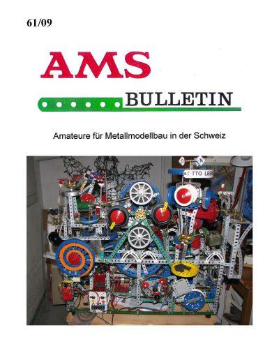 AMSclub Titelbild Bulletin 61/2009
