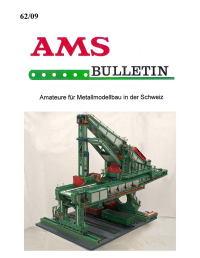 AMSclub Titelbild Bulletin 62/2009