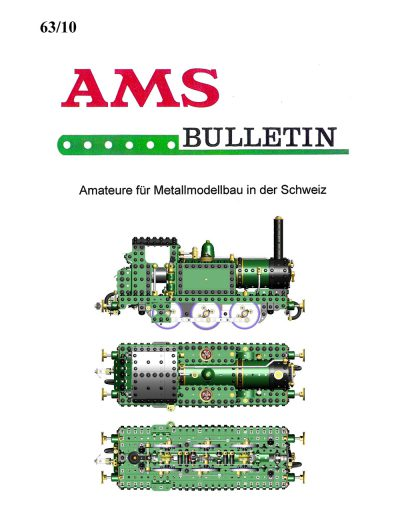 AMSclub Titelbild Bulletin 63/2010