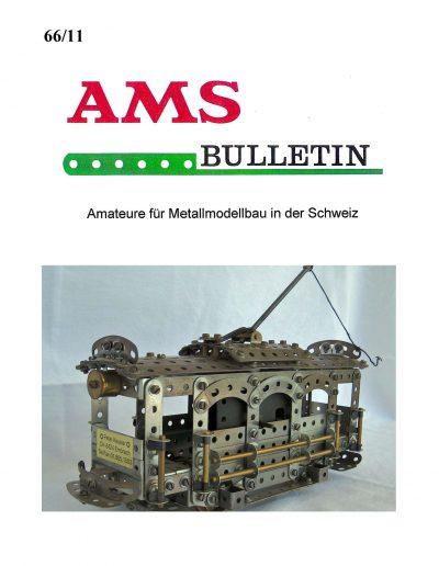 AMSclub Titelbild Bulletin 66/2011