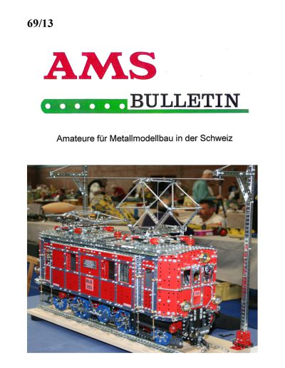 AMSclub Titelbild Bulletin 69/2013