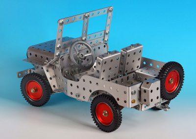 Willys Jeep von hinten