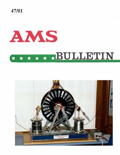 AMSclub Titelbild Bulletin 47/2001