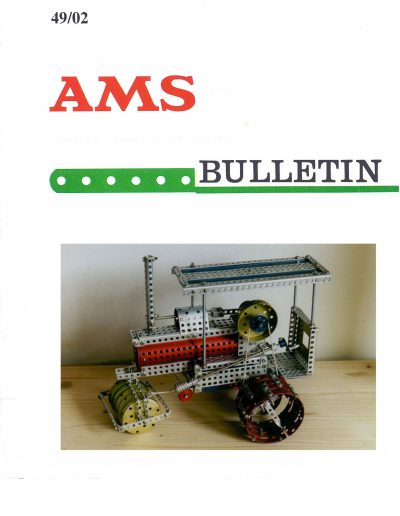 AMSclub Titelbild Bulletin 49/2002