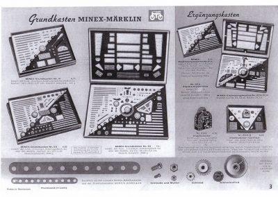 Minex-Märklin-Grundbaukasten