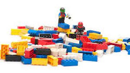 klassische Legobausteine