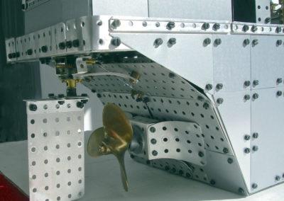 Bild 5  Propeller und Ruder