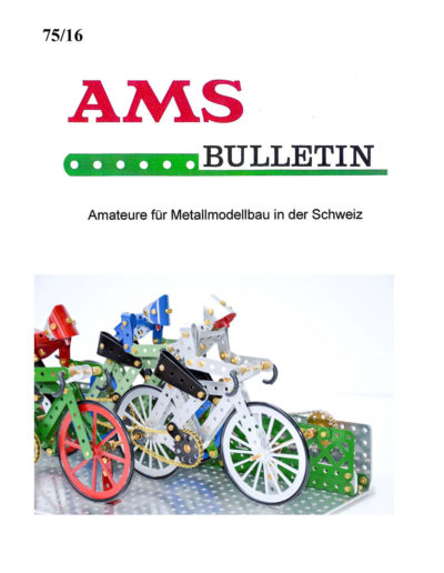 AMSclub Titelbild Bulletin 75/2016