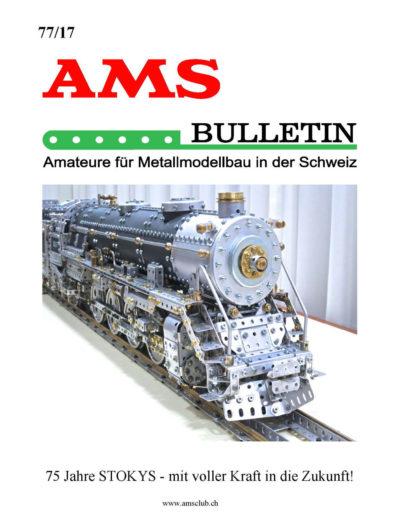 AMSclub Titelbild Bulletin 77/2017