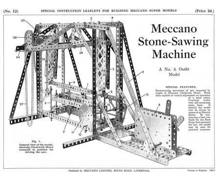 Stone-Sawing Machine
