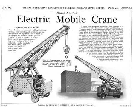 Electric Mobile Crane