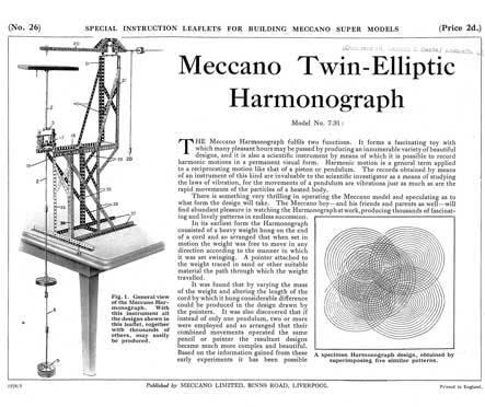 Twin-Elliptic Harmonograph