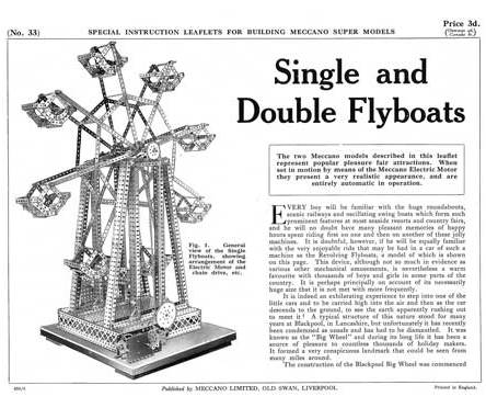 Single and Double Flyboats