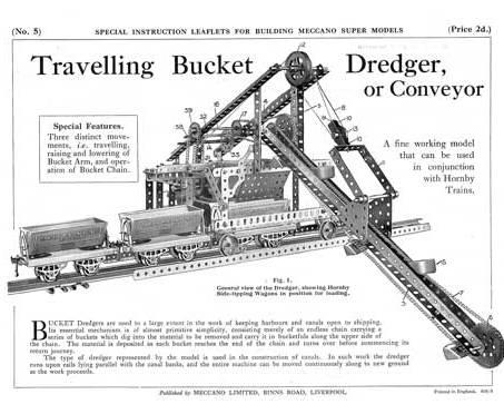 TravellingBucket Dredger