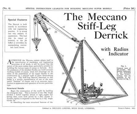 Stiff-Leg Derrick