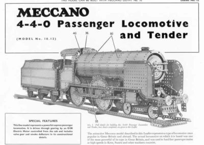 4-4-0 Locomotive & Tender