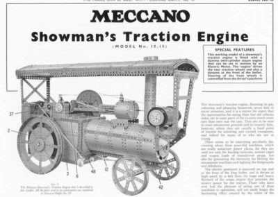Showman's Traction Engine
