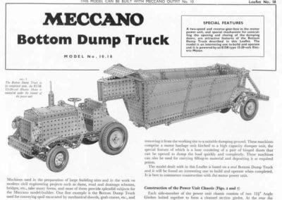 Bottom Dump Truck