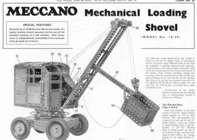 Mechanical Loading Shovel