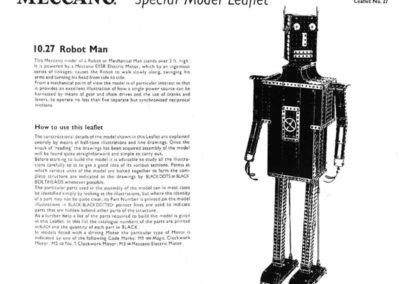 Robot or Mechanical Man