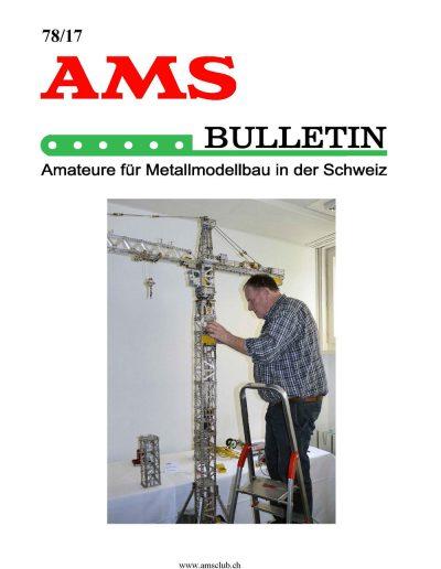 AMSclub Titelbild Bulletin 78/2017