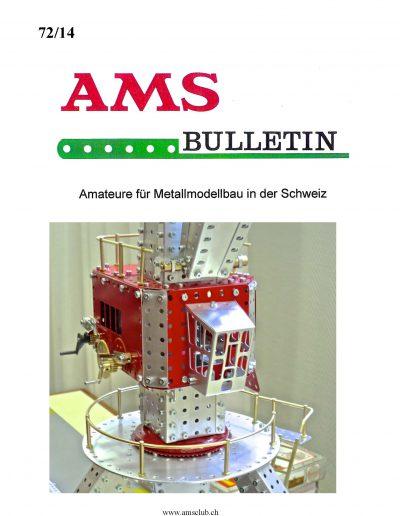 AMSclub Titelbild Bulletin 72/2014