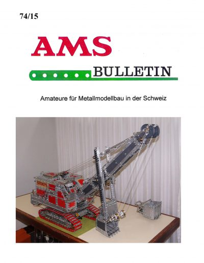 AMSclub Titelbild Bulletin 74/2015