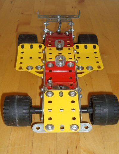 Rennwagen Meccano