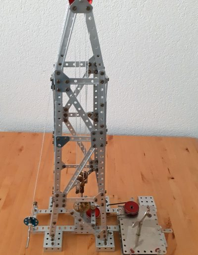 Oel Bohrturm