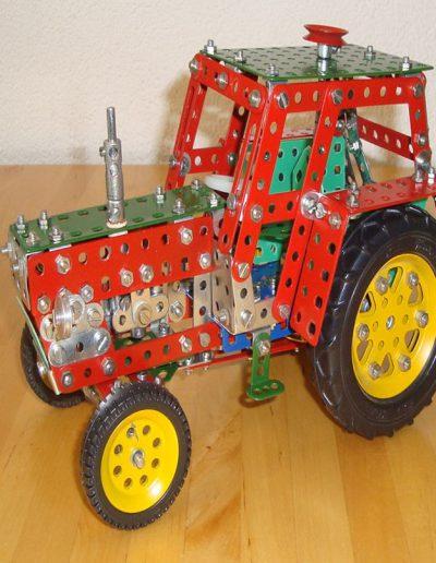 Traktor seitlich