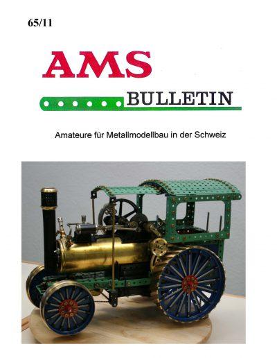 AMSclub Titelbild Bulletin 65/2011