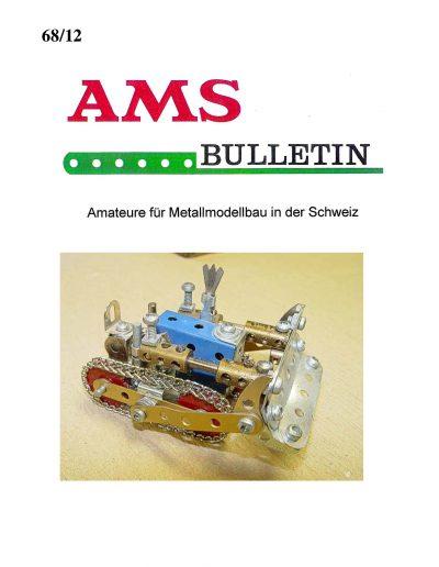 AMSclub Titelbild Bulletin 68/2012