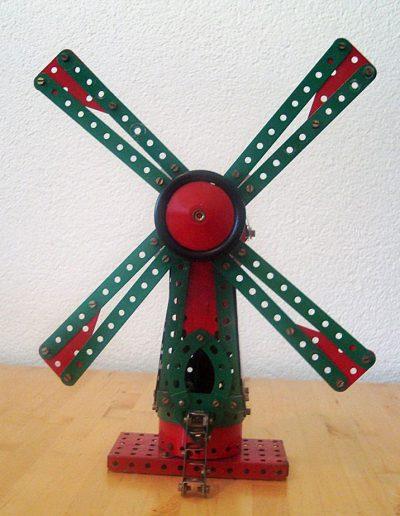 Windmühle von vorne