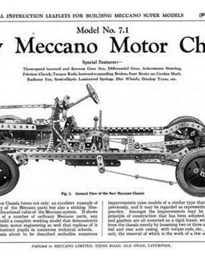 Meccano Motor Chassis-1