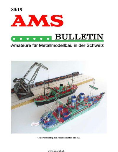 AMSclub Titelbild Bulletin 80/2018