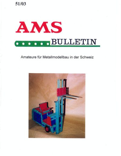 AMSclub Titelbild Bulletin 51/2003