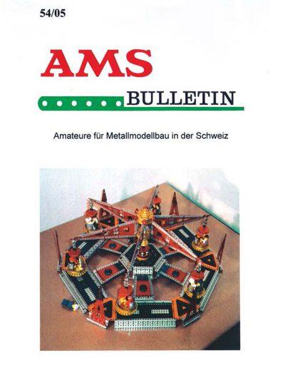 AMSclub Titelbild Bulletin 54/2005