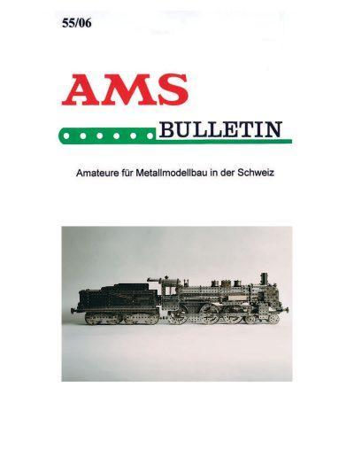 AMSclub Titelbild Bulletin 55/2006