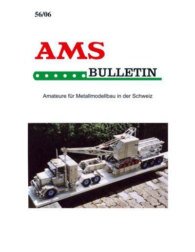 AMSclub Titelbild Bulletin 56/2006